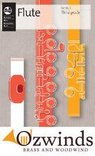 AMEB Flute Third Grade - Series 3, (Grade 3) The New Edition.