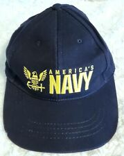 New listing Embroidered Us America's Navy Cap Strapback Adjustable Crafted with Pride in Usa