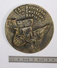 (MB) Médaille 13ème Bataillon de Chasseurs Alpins