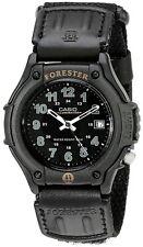 Casio FT500WC-1BV, Forester, Illuminator Watch, Black Strap, Date, 100 Meter WR