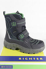 Richter Boots Blue Sympatex,100% Waterproof, 617471 New