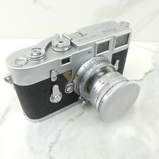 1950's Leica M3 Rangefinder Camera w/ 50mm f/2 Summicron Collapsible Lens & Cap