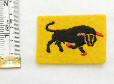 An Original Military WWII 11th Armoured Division Formation Cloth Badge (4593)