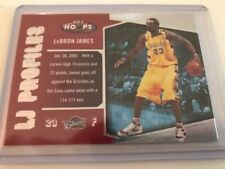 LeBron James Modern (1970-Now) NBA Basketball Trading Cards