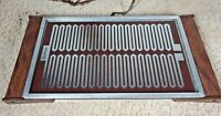 Salton Series 900 Model H-910 Glass Top Warming Tray Hot Plate W/Booklet