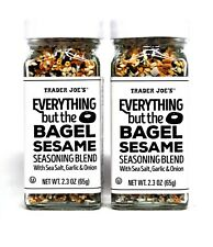 Trader Joe's Everything but The Bagel Sesame Seasoning Blend Grinder Toast Joe 2