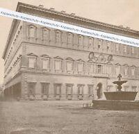 Rom : Der Palazzo Farnese - um 1920 - selten - Q 23-4