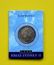 AUSTRALIA 1 ONE DOLLAR 2000  HMAS SYDNEY FDC