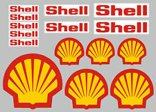 Shell Stickers/Decals - 15 High Quality Printed and Cut Stickers