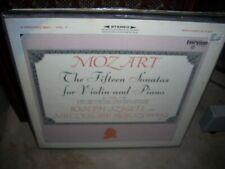 SZIGETI / HORSZOWKI / MOZART 15 sonatas violin piano 1 ( classical ) 3lp box re