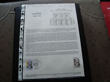 FRANCE - document officiel 1er jour 16/4/1983 (jacques-ange gabriel) french