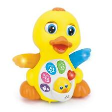 Huile Musical Flapping Duck Educational Toddler Toy with Action Light and Music