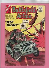 Battlefield Action #57 Silver-Age War 1965 Charlton Comics