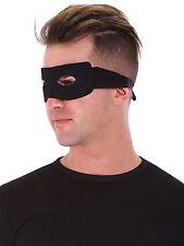 Domino Eye Mask Zorro Ranger Burglar Bandit Party Costume Masquerade Masked Ball