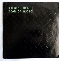 Talking Heads - Fear of Music Portuguese Release - VINYL - VG+LP - 80's - Rock