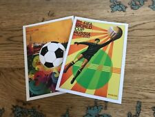 2018 Russia World Cup Poster POSTCARD Mini Set