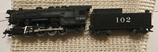 AHM Rivarossi # 102 Ho Scale 0-8-0 Steam Locomotive And Tender Doesn't Run