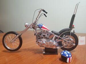 Franklin Mint 1:10 Harley Davidson Easy Rider Chopper B11WL73