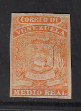 Venezuela 1859 Issue #1a  MH  HICV  Signed  See*