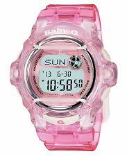 Casio Women's BG169R-4 Baby-G Pink Jelly Digital Watch