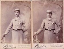 Tompkins Hose Company, Fishkill, Beacon, NY, Cabinet Photographs of 22 Members