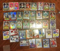 Huge Football Card Rookie Auto Patch RC Prism Lot