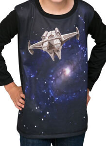 Deep Space -   winter long sleeve Boys T shirt - FREE DELIVERY size 2-12