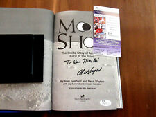 ALAN SHEPARD APOLLO 14 NASA ASTRONAUT SIGNED AUTO MOON SHOT BOOK JSA BEAUTY