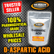 PURE D-ASPARTIC ACID POWDER DAA 100g | TESTOSTERONE BOOSTER