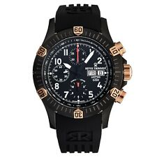 Revue Thommen Men's Airspeed Black Dial Chronograph Automatic Watch 16071.6884