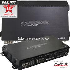 AUDIO SYSTEM M-135.2 2-Kanal Verstärker Cl. A/B Auto PKW Endstufe 2x135 Watt/RMS