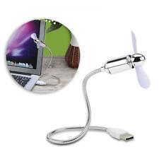 Portable Flexible USB Mini Cooling Fan Cooler For Laptop Desktop PC Computer Lot