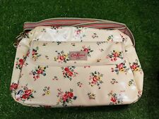Cath Kidston Floral Flowers Changing Bag with Mat - Neutral Colours  #N