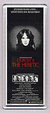 EXORCIST II (2) THE HERETIC movie poster LARGE FRIDGE MAGNET -  CLASSIC !