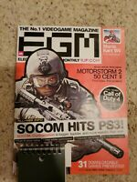 """ELECTRONIC GAMING MONTHLY"" (EGM) Magazine, ""PS3 SOCOM"" Issue, #228, 2008!"