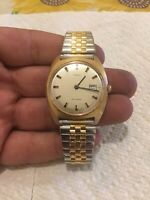 vintage timex self winding 1970- 1979 great condition men's watch