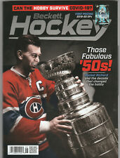 June 2020 #334 BECKETT HOCKEY MONTHLY PRICE GUIDE! ROCKET RICHARD! CANADIENS!