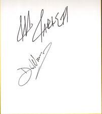 Dr Wagner Jr & Jeff Jarrett Signed Shikishi Bas Beckett Coa Aaa Wwe Autograph