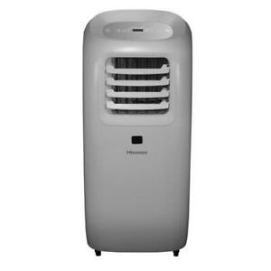 Hisense 10,000 BTU ASHRAE Ultra-Slim Portable Air Conditioner with Window Kit