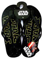 Star Wars Logo Herren Flip Flops Zehentrenner Sandalen 42-43 Badeschuhe Disney