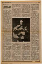 Speedy Keen Thunderclap Newman Interview/article 1972 RS-REQX