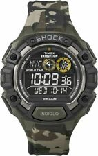 "Timex T49971, Men's ""Expedition"" Camoflage Resin Watch, Shock Resistant,T499719J"