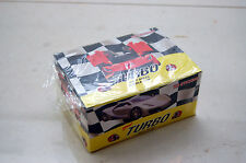 TURBO MERT NEW 2014 BOX WITH FOIL 100 GUMS GUM WRAPPERS CARS ALL COLORS
