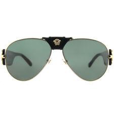 eea4c61dcb4 Versace 2150q Sunglasses 100271 Gold 100 Authentic