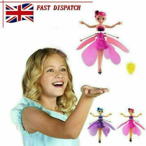 New Flying Fairy Princess Dolls Magic Infrared Induction Control Toy Child Gift