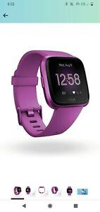 Fitbit Versa Lite FB415PMPM Fitness Smartwatch - Mulberry