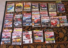 MAGAZINES MOTOR- WHEELS 1994-2011 -COLLECTORS  COLLECTION - BULK LOT
