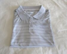 Columbia Bow Glacier Short Sleeve Stripes Men's Polo Shirt Grey XL MSRP $40 NWT