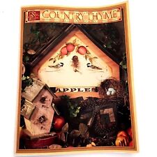 Country Thyme Teresa Gregory Tole Decorative Painting Halloween Christmas 1997