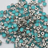 50pcs 6mm Acrylic Round Opal Faceted Crystal Sew On Rhinestones Diamante